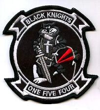 USN F14 TOMCAT TOP GUN FIGHTER Sqn Shoulder Sleeve Insignia VF-154 Black Knights