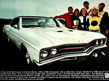 1967 BUICK GS 400 SKYLARK GRAN SPORT ORIGINAL AD-V8 engine/intake manifold/block