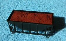 Hay Bros IRON ORE LOAD (6-pk) - Fits ATHEARN & ROUNDHOUSE 22ft HO Scale Ore Cars