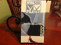Windsor Pilates Body Sculpting Accelerated 50 Minute Workout VHS Tape sealed