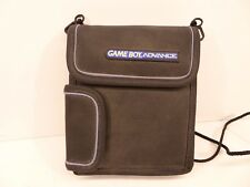 Nintendo Gameboy Advance Carrying Storage Travel Case w/ Shoulder Neck String