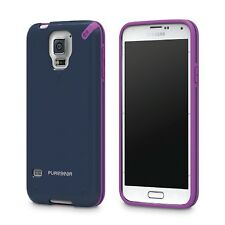 Puregear Mystical Blue Flexible Slim Shell Protection Case for Galaxy S5
