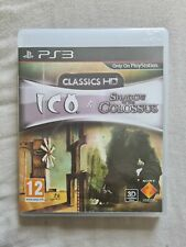 ICO & SHADOW OF THE COLOSSUS CLASSICS HD Playstation 3 PS3 BOXED COMPLETE UK