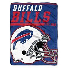 "New NFL Buffalo Bills Soft Micro Rasche Large Throw Blanket 46"" X 60"""