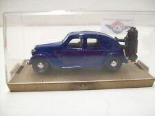 Lancia Aprilia Gasogeno, Blau, 1936, Brumm (Made in Italy) 1:43
