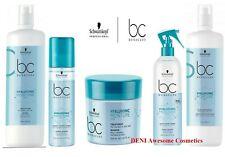 Schwarzkopf BC Bonacure Hyaluronic Moisture Shampoo,Conditioner,Kick Spray, Mask