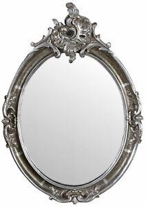 Wandspiegel Silber Spiegel Antik  Hängespiegel Barock Prunkspiegel Wanddeko
