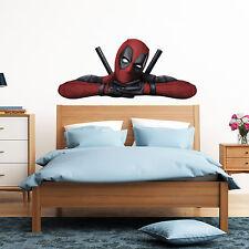 Deadpool Peeking Peeping Kids Boy Car Bedroom Decal Wall Art Sticker Gift XXLarge
