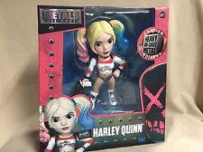 "Suicide Squad Harley Quinn Heavy Die Cast Metal Action Figure 6"" Jada Toys M117"
