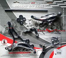 PEDANE VALTERMOTO TIPO 1 PER SUZUKI GSX-R 750  2006 2007 2008 2009 2010  (PES61)