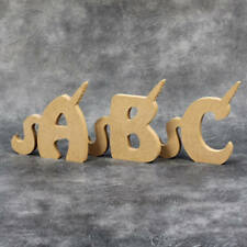 Freestanding Unicorn Letters 18mm ** Price Per Letter ** 15cm High Craft Letters