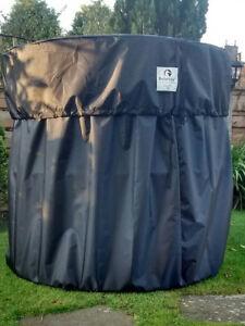 NEW VERSION !! BALETIDY Bale Rain cover - Round Hay/Straw bales upto 5ft
