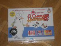 """CAJA CON 5 DVD,s DE """"ERASE UNA VEZ EL CUERPO HUMANO"""". NUEVA Y PRECINTADA-(1)."""