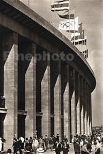 1936 Vintage GERMAN OLYMPICS STADIUM Architecture Photo Art 11x14 By PAUL WOLFF