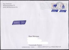 Netherlands - 2016 - Modern Priority Mail Definitives on Cover to US - Nice!