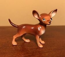 "Hagen-Renaker Mini #035 CHIHUAHUA in ""Brown"" - Miniature Ceramic Dog Figurine"