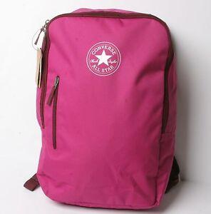 Converse Vertikal Reißverschluss Rucksack ( Pink