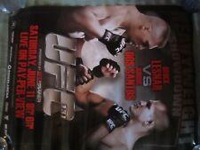 UFC 131 / 130  18 X 24 2-SIDED POSTER  LESNAR VS DOS SANTOS EDGAR VS MAYNARD MMA