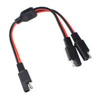 30cm 2 Pin 20A SAE - Câble d'extension SAE pour faisceau de batterie au