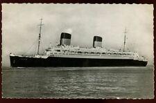 France Sea Transportation Postcard