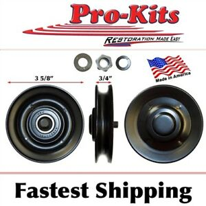 Fits Dodge Plymouth AC Fan Idler Pulley  CORRECT ALL THE WAY