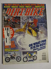 December 1994 DIRT BIKE Magazine motocross moto x racer action mx