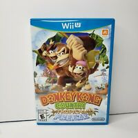 Nintendo Wii U Donkey Kong Country Tropical Freeze Pre-Owned Complete