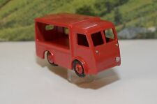 DINKY TOYS 30V NCB ELECTRIC VAN ROSSO RED