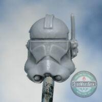 "MH472 custom Cast head use w/3.75"" Star Wars GI Joe Acid Rain action figures"