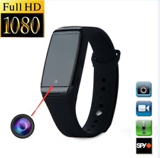 1080P WAV Mini Camera DVR Video Hidden Spy Wrist Watch Recording Recorder Tool