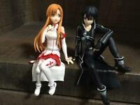 Sword Art Online Alicization Aincrad Kirito Noodle Stopper Figure Toy AMU10527