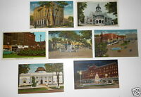 LOT OF 7 WATERTOWN NEW YORK NY  VINTAGE POSTCARDS