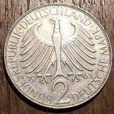 PIECE DE 2 DEUTSCHE MARK 1963 G. MAX PLANCK (515)