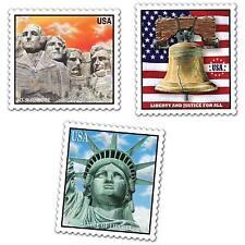 Patriotic Stamp Cutouts