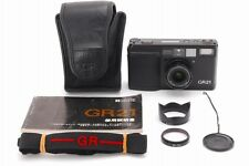 【MINT】 Ricoh GR21 BLACK Date 35mm Point & Shoot Film Camera From Japan #1683