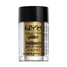 NYX Cosmetics Face Body Glitter Gold Brand New