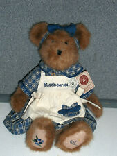 """Boyds Bears Muffin B Blueberry 14"""" Plush Bear W/Tags Yankee Candle Exclusive"""