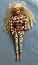 "Vintage 1966 Body 1976 Head Mattel 12"" Barbie Doll with Blonde Hair ~ Malaysia"