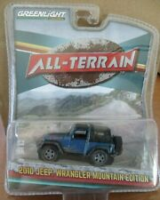 Greenlight 2010 Jeep Wrangler Mountain edition all terrain series 1