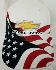 CHEVROLET RACING Stars & Stripes Hat Cap Embroidered Hook & Loop
