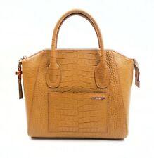 Thomas Wylde | Beige Embossed Leather Handbag
