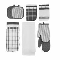 Mainstays, 20 Piece Set, Terry & Flat Kitchen Towel, Dish Cloth, Flour Sack, O