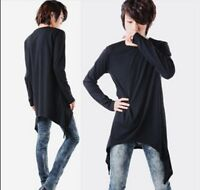 Fashion Autumn Men's Korean Avant-garde Long Sleeve T-shirt Tassels Base Shirts