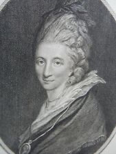 Mrs Piozzi's Reminiscences ENGRAVING 1700s Return to Homosexuality in 18th c UK