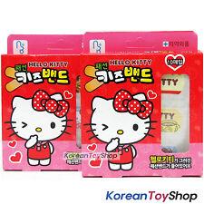 Hello Kitty Fashion Band Aids Adhesive Bandages Standard Type 2 Boxes Made Korea