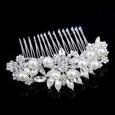 hair comb bridal crystal hair comb hair clip bridal hair accessories