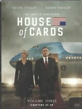 Movie DVD - HOUSE OF CARDS VOLUME 3 - Pre-owned - Netflix