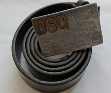 DSQUARED2 30mm Leder Gürtel - Belt Gr 85