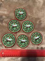 6 Patches BOY SCOUTS SCOUT FAIR PATCH LOT 1987 Nine Rivers Scout Fair BSA 96O2