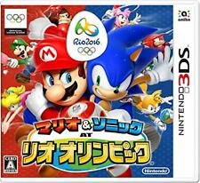 New Nintendo 3DS Mario & and Sonic at the Rio 2016 Olympic Japan Import
